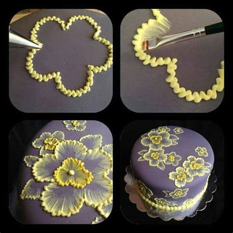 brush embroidery pattern brush embroidery cake flowers and template ideas