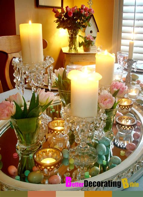 wonderful decorating easter table ideas 19 to your home