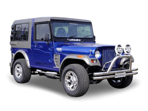 thar jeep white mahindra customisation modified car customized jeeps