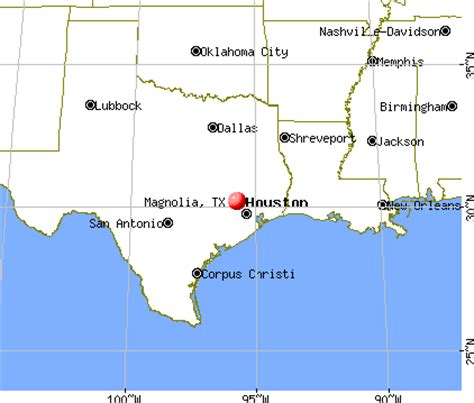 magnolia texas map magnolia texas tx 77354 77355 profile population maps real estate averages homes