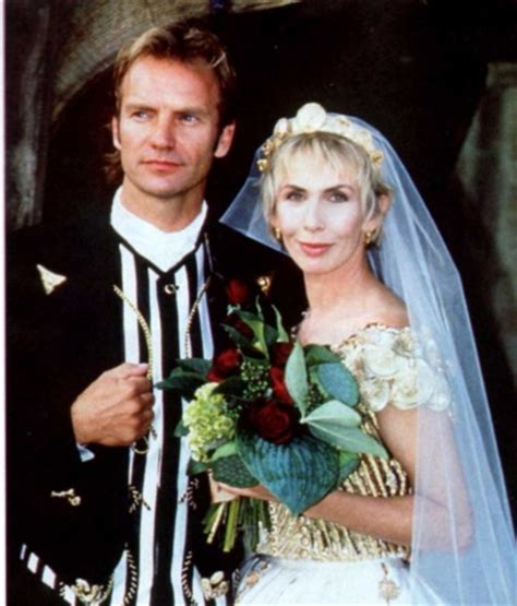 Celebrity Weddings images Sting and Trudie Styler