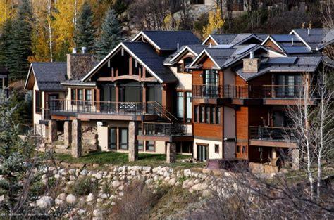 imposing contemporary home in aspen colorado 16 9 million newly listed mountaintop contemporary