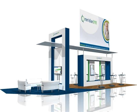 trade show booth design new jersey meridian custom exhibits