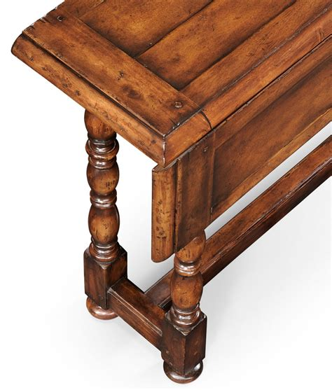 Country Sofa Table walnut country sofa table 18