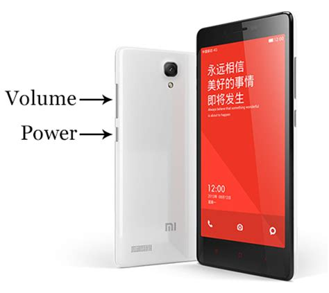 Tombol Switch On Xiaomi Redmi Note 3 Xiaomi Redmi 2 Reset Without Tool
