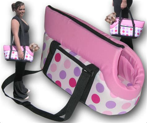 carrier purse for shih tzu the dotty carrier carry bag