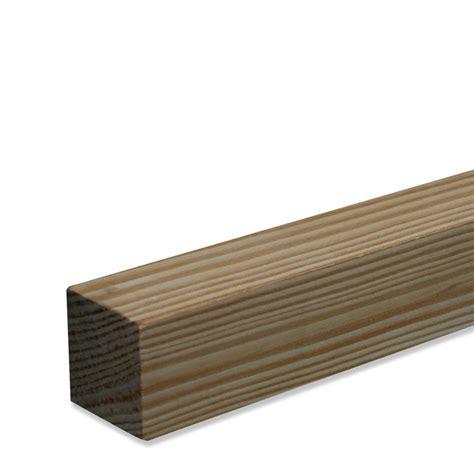 terrassenüberdachung 4 x 5 holz quadratleiste kiefer massivholz 2400x28x28mm
