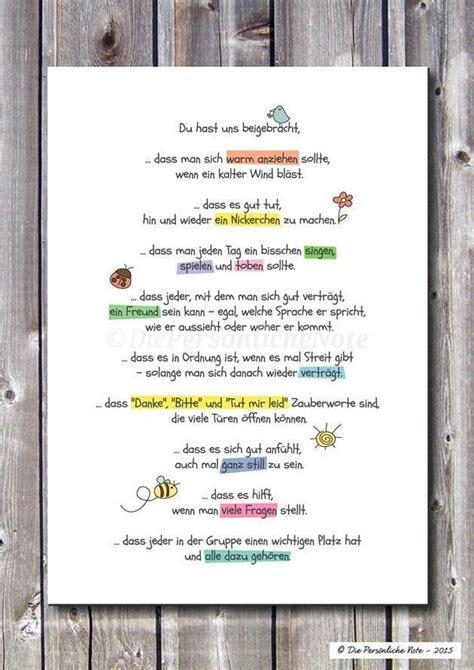 Danksagung Praktikum Vorlage 25 Einzigartige Abschiedsspruch Kindergarten Ideen Auf Erzieherin Abschied