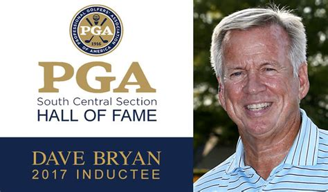 pga south central section bryan appreciates recognition by peers expects emotions