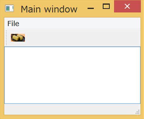 qmainwindow layout manager pythonでgui pyqt5 メニューとツールバー qiita