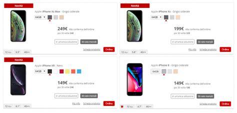 iliad mette a disposizione iphone xs max iphone xs iphone xr e iphone 8 in 30 rate tuttotech net
