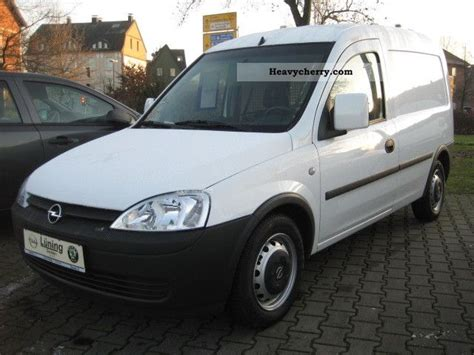 opel combo 2008 opel combo van 2008 box type delivery van photo and specs