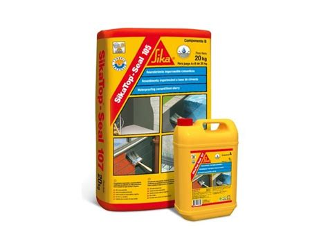 Sika Top 107 Seal Set 25 Kg 20kg Cairan 5kg water proofing moisture proofing archives sakkab