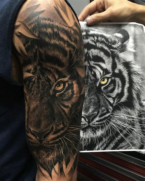tiger arm tattoos designs 1000 ideas about tiger on tiger