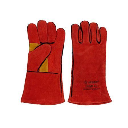 Sarung Tangan Kulit Untuk Las jual sarung tangan las merah 14 inch jason harga murah