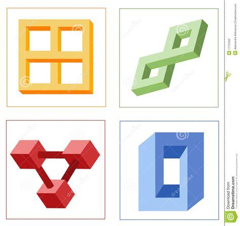 ilusiones opticas figuras imposibles diversas ilusiones 243 pticas de objetos imposibles