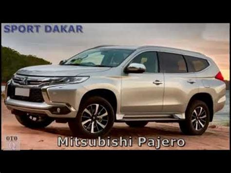 2019 All Mitsubishi Pajero by New 2019 Mitsubishi Pajero Sport Dakar Engine And