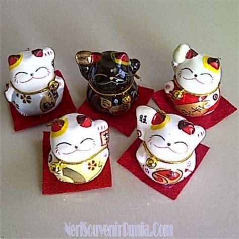 Mancanegara Souvenir Gantungan Kunci China jual souvenir kucing keberuntungan china