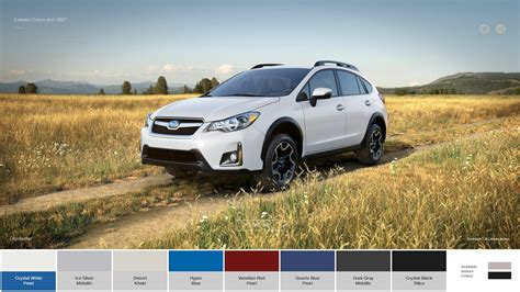 crosstrek subaru colors subaru crosstrek colors 2017 subaru crosstrek color options
