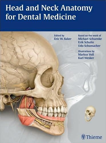 Anatomy For Dental Medicine and neck anatomy for dental medicine by eric w baker