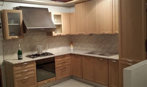 cucina in rovere sbiancato cucina flavia in rovere sbiancato di lube scontata