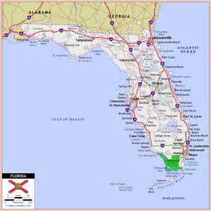 florida highway map florida road map 2015 deboomfotografie