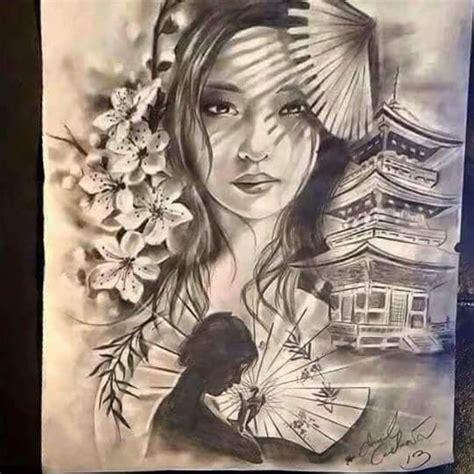 geisha kriegerin tattoo die besten 10 geisha tattoos ideen auf pinterest geisha