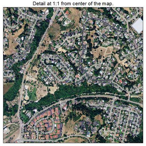 moraga california map aerial photography map of moraga ca california