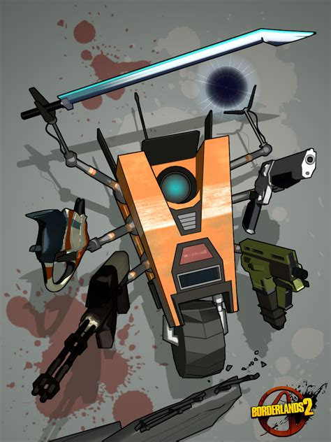 Claptrap Papercraft - claptrap just got bazilliondier by hooliganlabs on deviantart