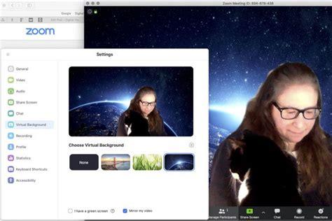 ganti background  zoom hp maupun laptop