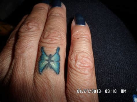 tattoo of us poo fingers waikoloa karen butterfly ring finger yelp