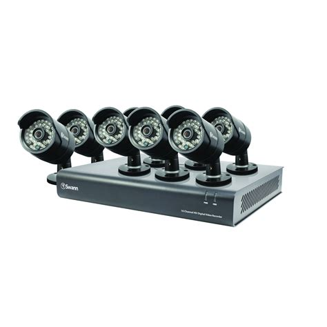 Cctv Ahd 13 720p swann 720p ahd 16 channel cctv security kit with 8 ip67