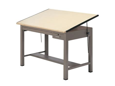Steel Drafting Table Mayline Steel Four Post Drafting Table Great Deals