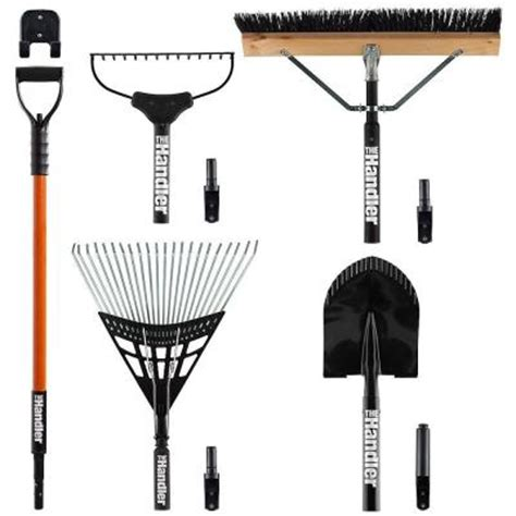 the handler system lawn and garden 5 tool set with