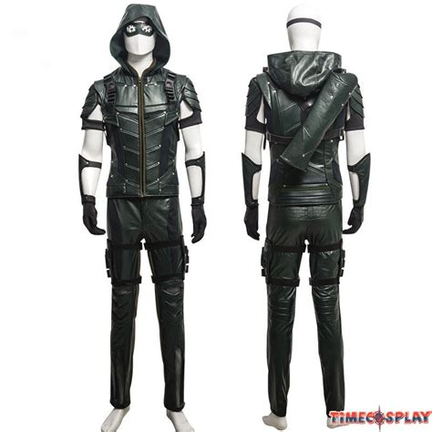 alan walker costume dc comics green arrow season 4 oliver queen cosplay outfit