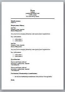 free basic resume templates berathen