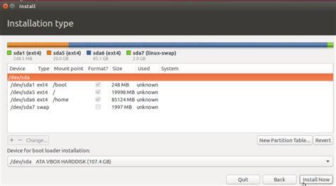 manual for ubuntu dual boot partition guide