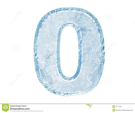 zero in font number zero stock photo image 7717750
