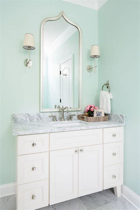 sherwin williams quot dewy quot paint colors turquoise grey bathrooms and vanities