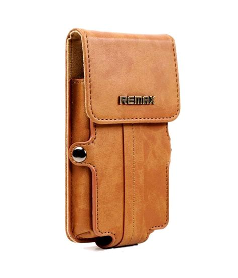 Leather Pro 12 Remax T2709 jo jo remax pedestrian series leather pouch holster for apple iphone 3gs brown pouches
