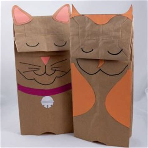 How To Make A Paper Bag Puppet Animal - 59 paper bag puppets guide patterns