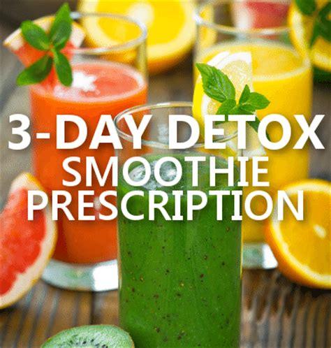 The Detox Prescription Recipes by Dr Oz 3 Day Detox Meal Plan