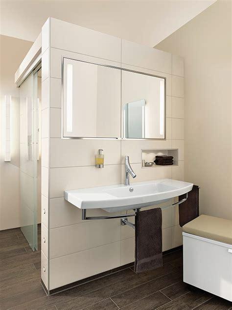 dusche mitten im raum ambiente badkomfort f 252 r jede generation richter frenzel