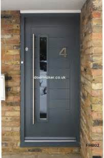 Modern Front Doors Uk Contemporary Front Doors Oak Iroko And Other Woods Bespoke Doors