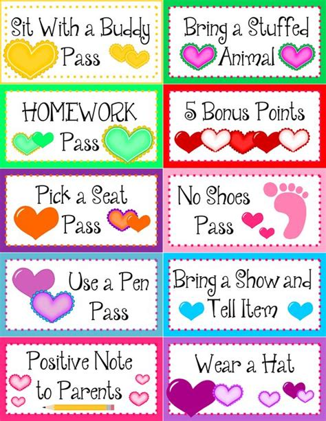 Such A Good Idea Can Change Passes Based On The Grade Level Your Students Interests Pbis Ticket Template