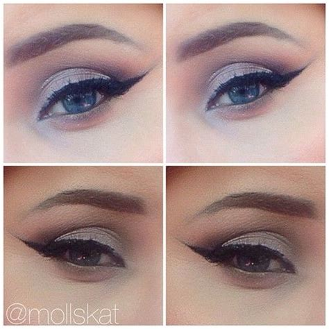 kiss ide tutorial light and dramatic eye makeup idea using urban decay naked