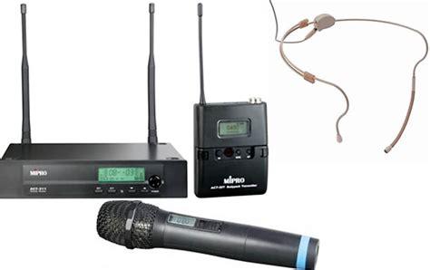 Mic Wireless Mipro Act 311 B Original 1 Peggang mipro act311 single wireless microphone system pav sales installation