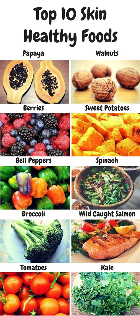 10 Foods Should Eat More by 10 Foods You Should Be For Better Skin