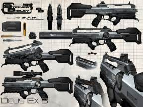 jim murray art deus ex hr stuff part 1 weapons