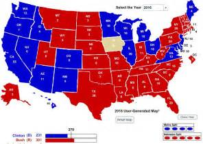 2016 Presidential Election Predictions Map electoral college prediction 2016 just b cause